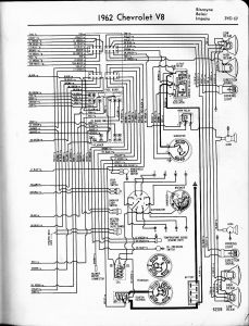 1965 Chevelle Wiring Diagram - 1962 V8 Biscayne Belair Impala Right 7f