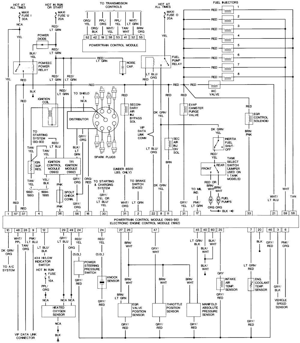 1994 ford f150 wiring diagram Download-1994 ford F150 Wiring Diagram 1989 ford Bronco Wiring Diagrams Wiring Diagram 1994 ford Bronco 6-i