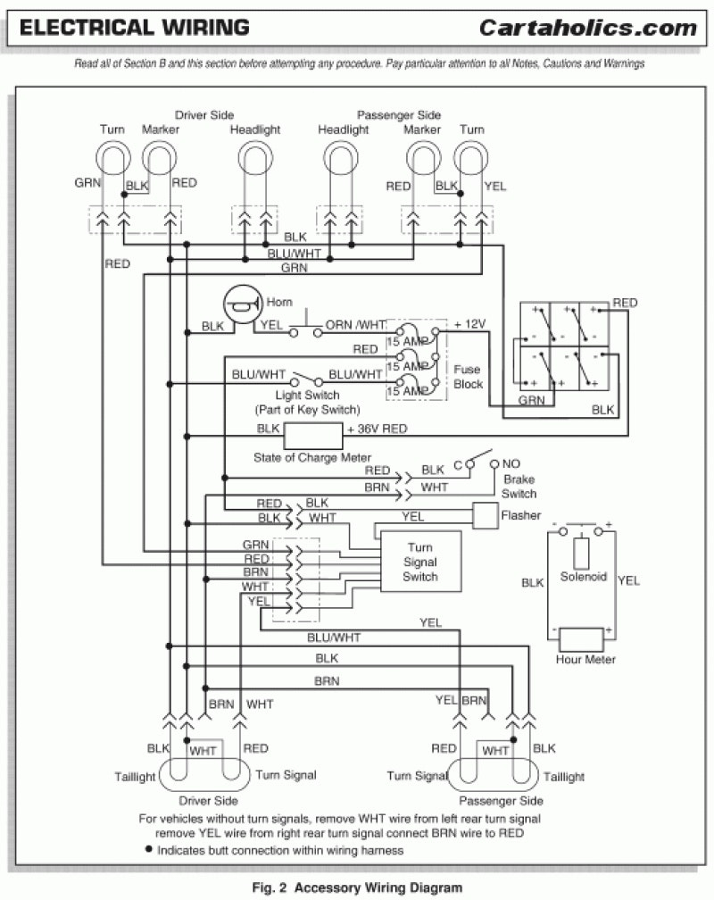2005 Ezgo Txt Wiring Diagram from wholefoodsonabudget.com