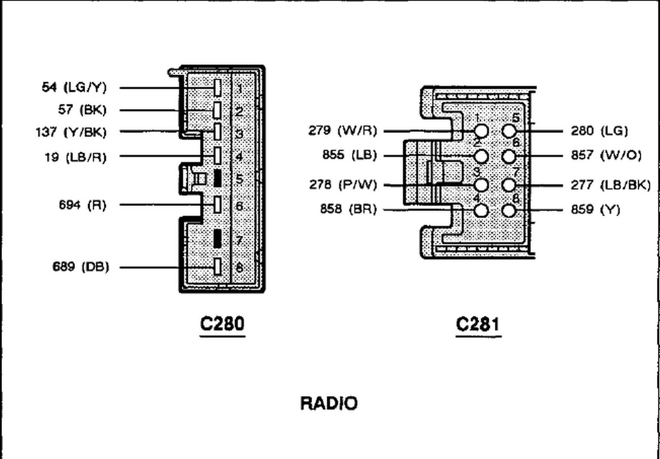 1998 Mustang Radio Wiring Diagram - 98 Camaro Stereo Speaker Wiring Diagrams  for Wiring Diagram SchematicsWiring Diagram and Schematics