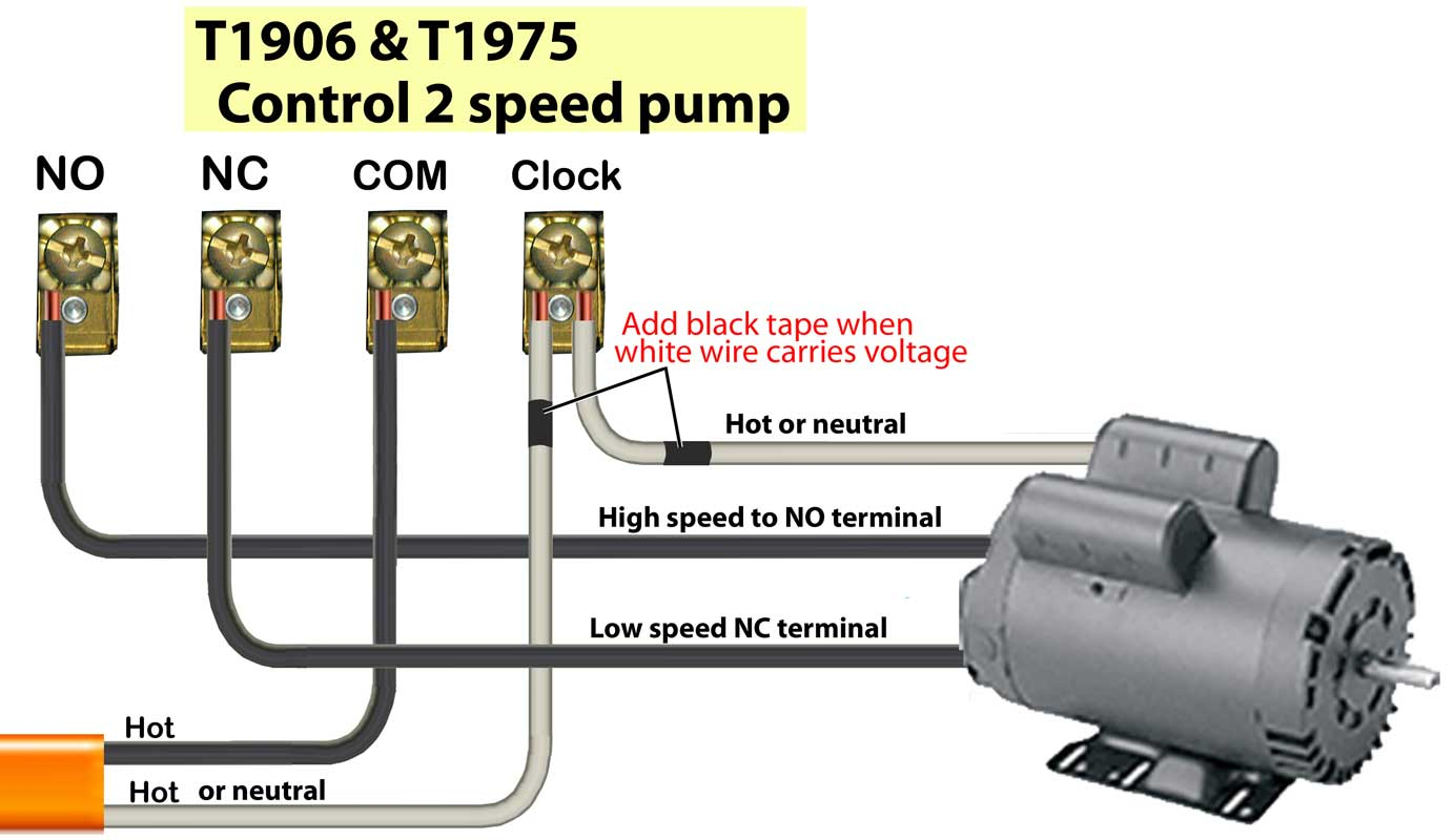 2 Speed Pool Pump Wiring Diagram