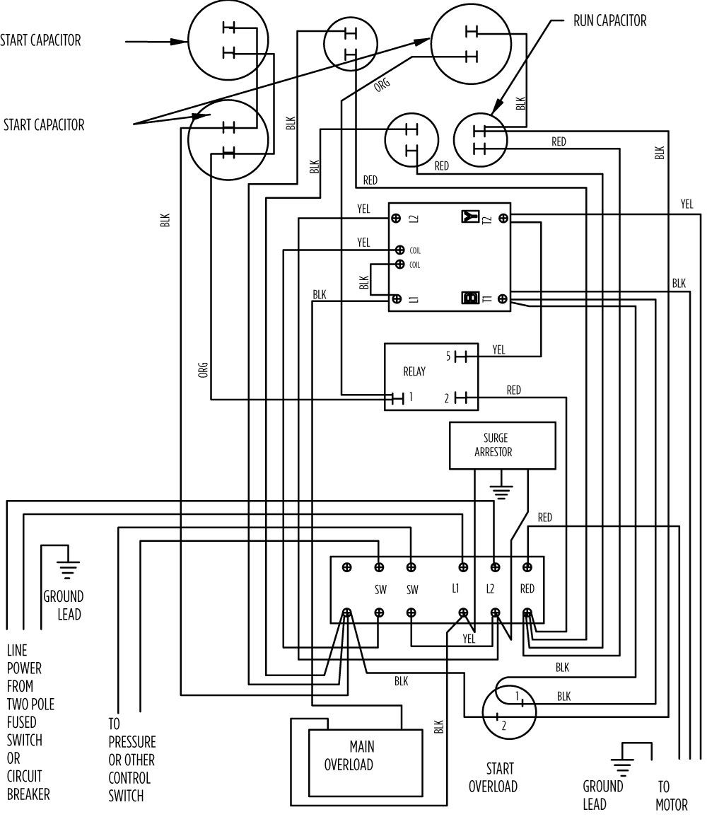 Wiring Diagram For 220 Volt Submersible Pump from wholefoodsonabudget.com