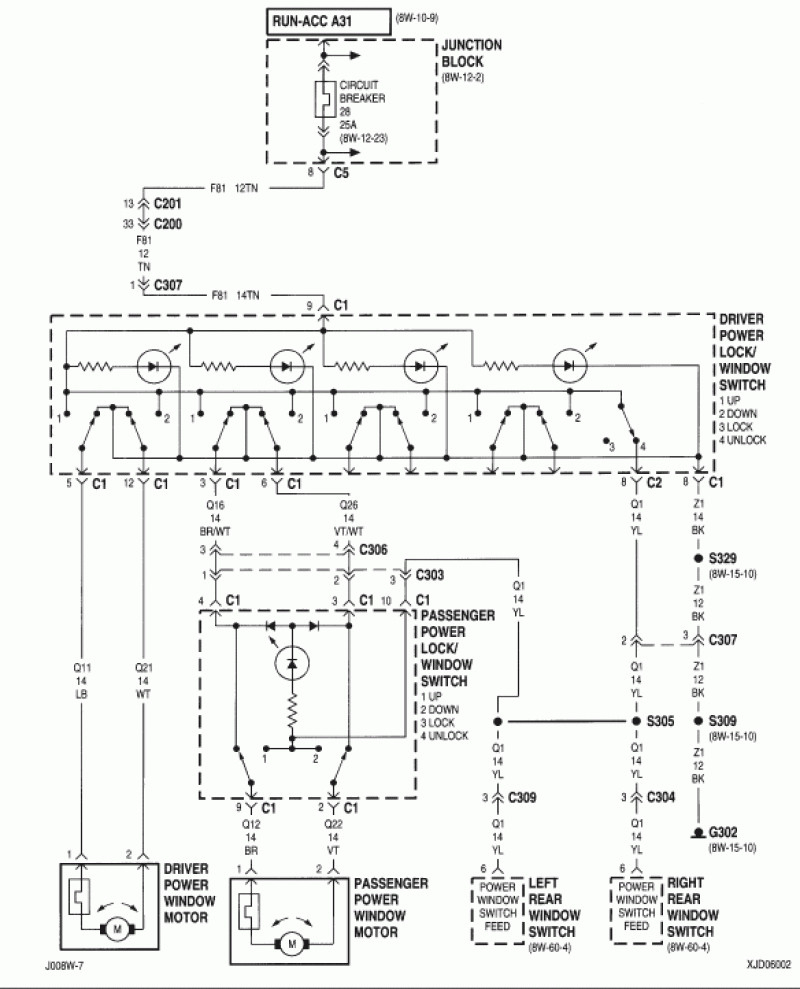 A Speaker Wiring Diagram For 2000 Jeep Cherokee Sport