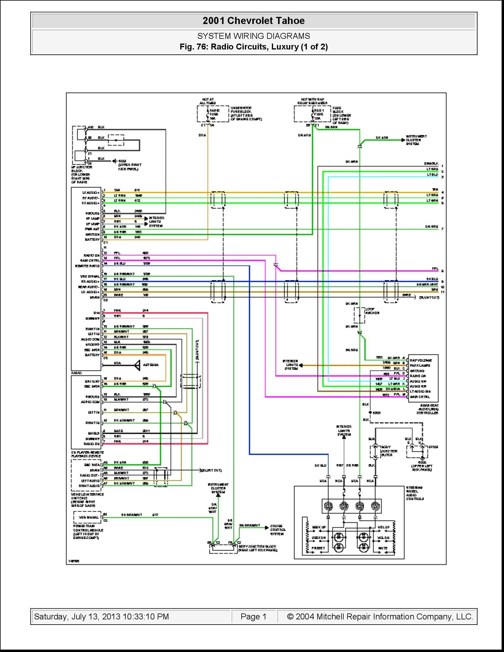 2004 chevy 2500hd trailer wiring diagram Download-2004 Chevy Silverado Radio Wiring Harness Diagram Best 2005 Chevy 19-b