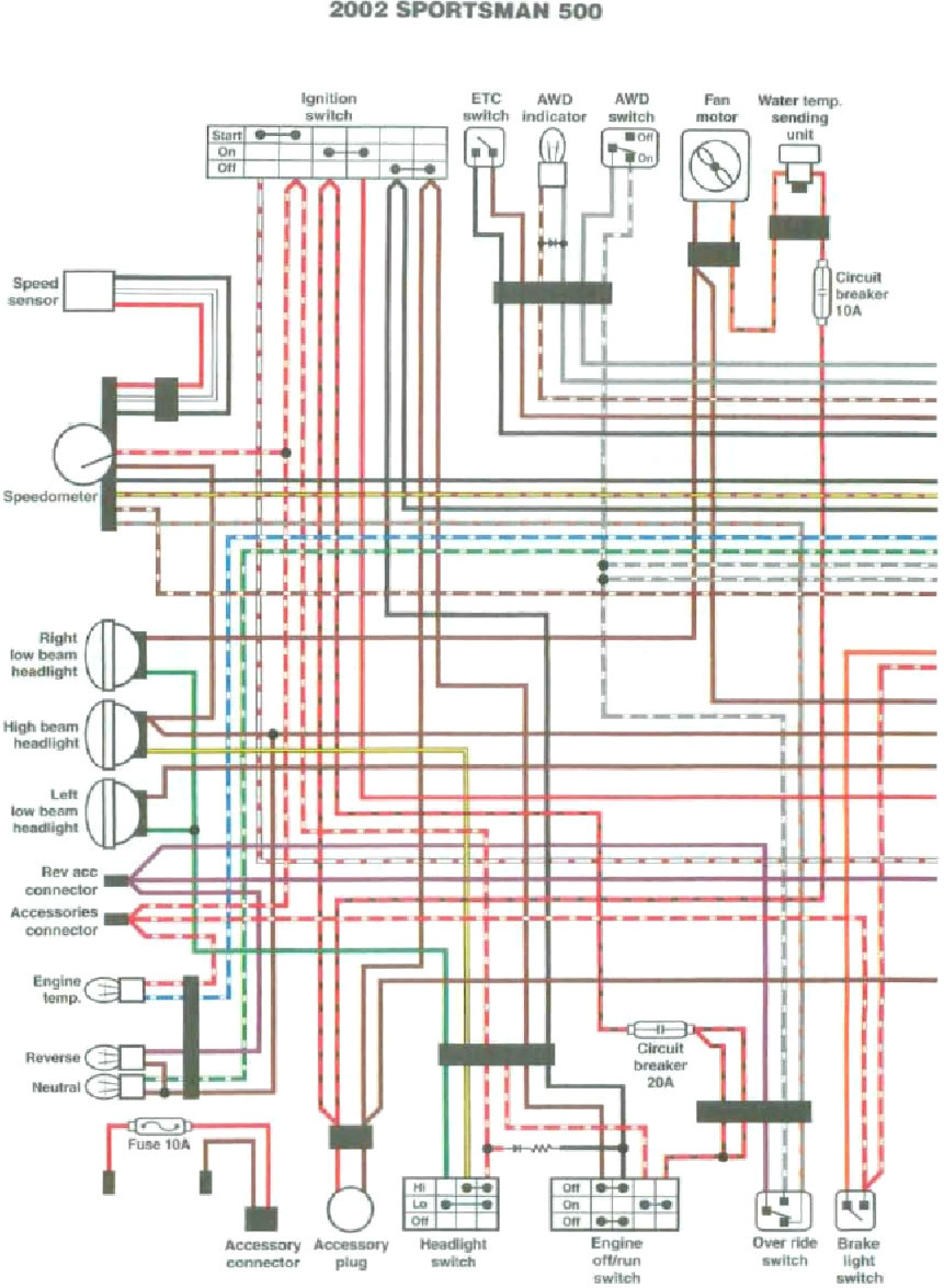 2004 Polaris Ranger 500 Wiring Diagram Sample on