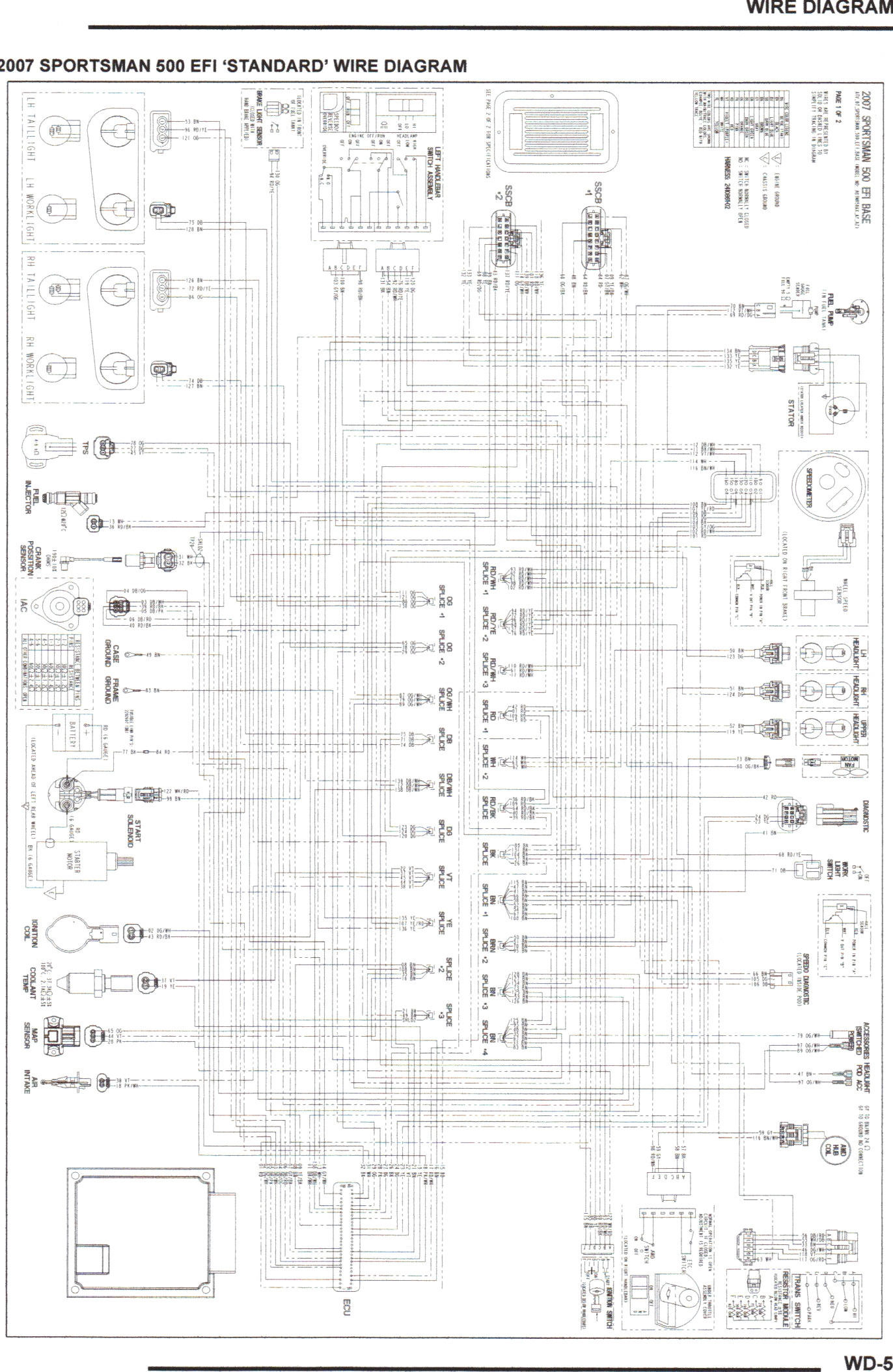 98 polaris sportsman 500 wiring diagram 2009 sportsman 500 wiring diagram #5