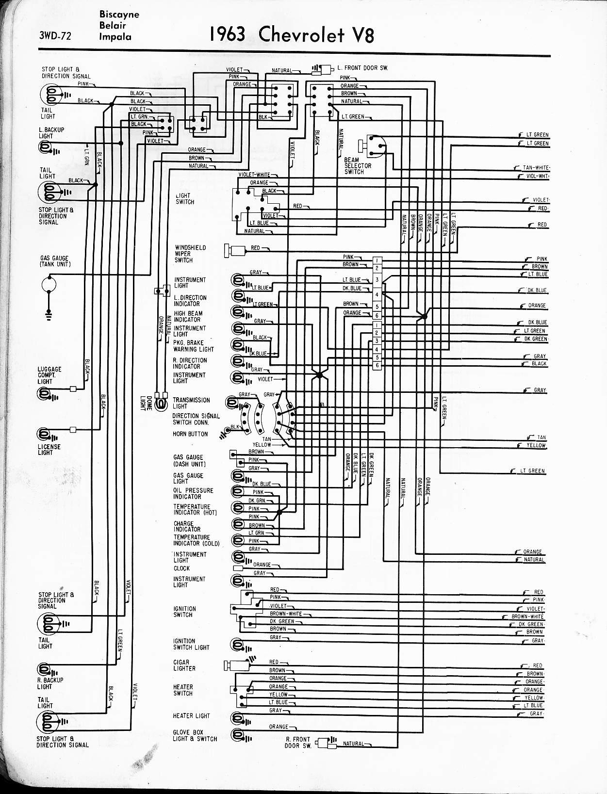 1965 chevy impala ignition switch wiring diagram 2005 chevy impala ignition switch wiring diagram #2