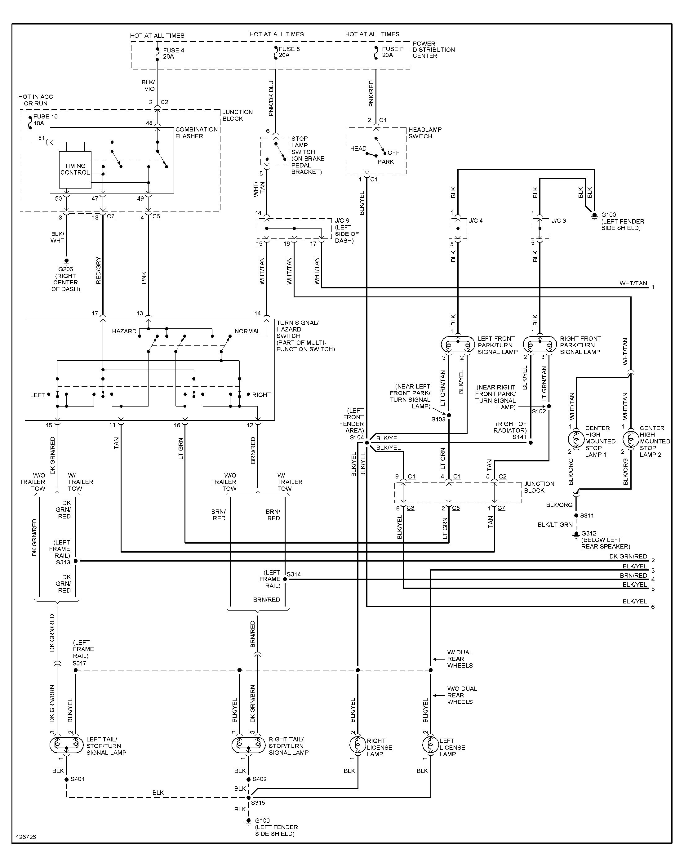 Trailer Brake Wiring Diagram 2007 Ram 3500