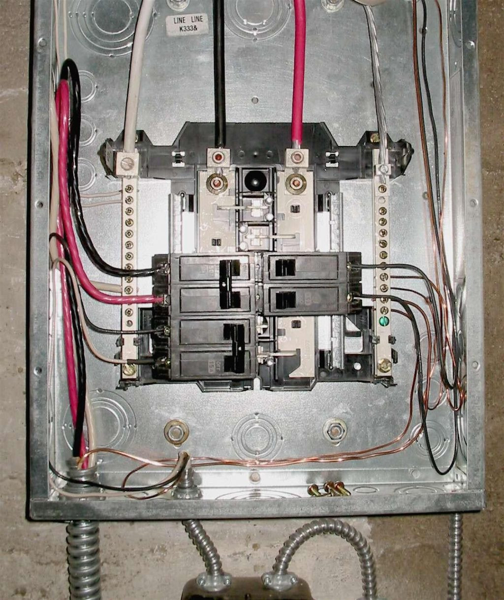 Breaker Box Wiring Diagram