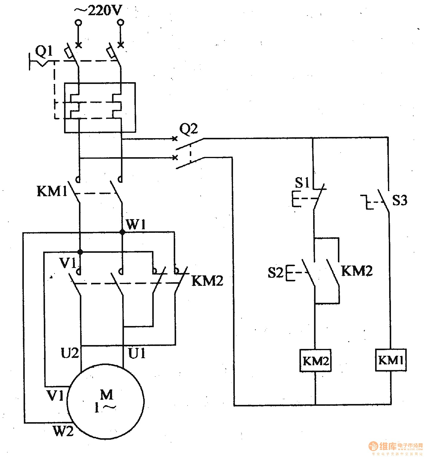 240v Single Phase Wiring Diagram : V motor wiring diagram single phase collection