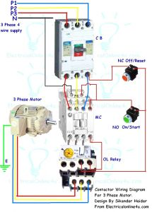3 Phase Contactor Wiring Diagram Start Stop - 3 Phase Contactor Wiring Diagram Start Stop Download Colorful Stop Start Wiring Diagram Sketch Electrical 20m