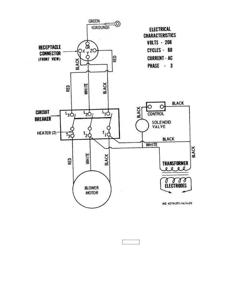 Residential Wiring Diagram Heater
