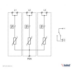 3 Phase Surge Protector Wiring Diagram - Internal Wiring Diagram 4i