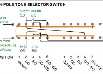3 Position Selector Switch Wiring Diagram - 3 Position Selector Switch Wiring Diagram Unique Les Paul Personal 3 5r