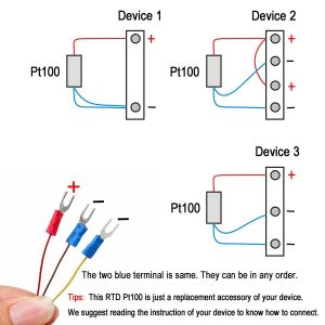 3 Wire Rtd Wiring Diagram - 3 Wire Rtd Wiring Diagram Best Crocsee Rtd Pt100 Temperature Sensor Probe 3 Wires 2m 1b
