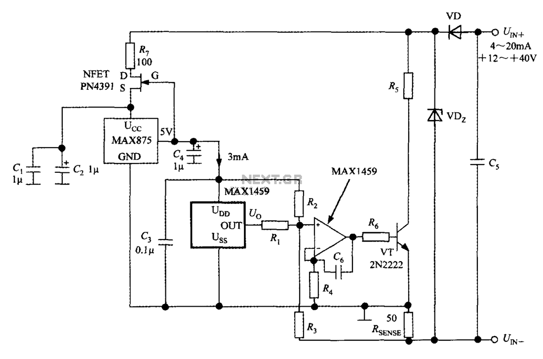 4 20ma Pressure Transducer Wiring Diagram Sample