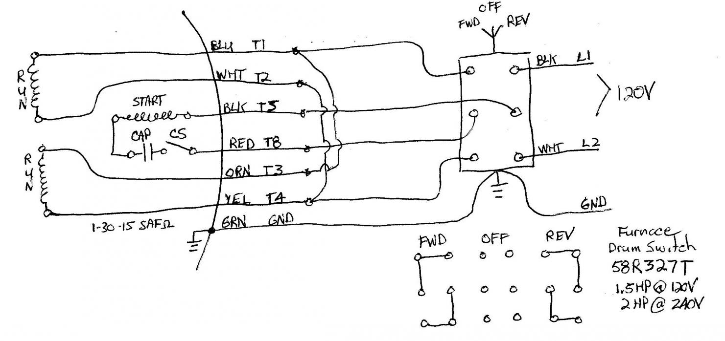 Hp Motor Wiring Diagram Motor Repalcement Parts And Diagram