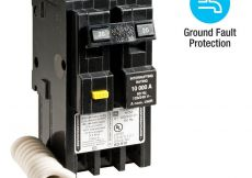 50 Amp Square D Gfci Breaker Wiring Diagram - Homeline 20 Amp 2 Pole Gfci Circuit Breaker 15e