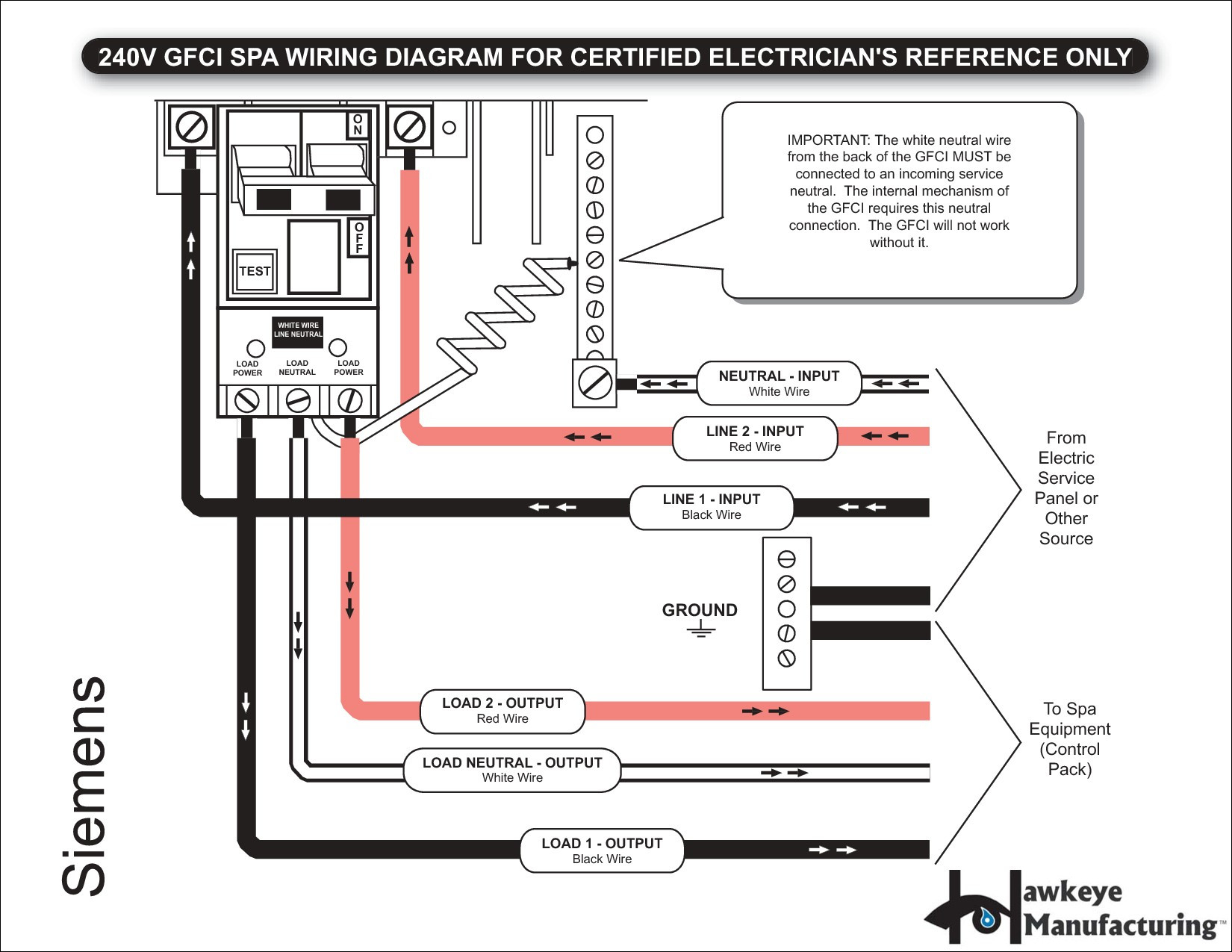 50 amp square d gfci breaker wiring diagram download. Black Bedroom Furniture Sets. Home Design Ideas
