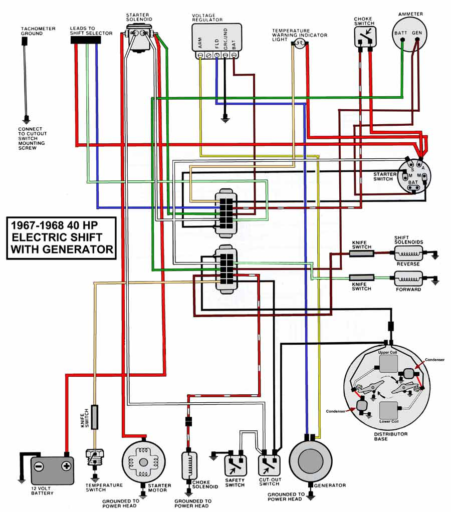 50 hp mercury outboard wiring diagram Collection-wiring diagram mariner 40 hp wire center u2022 rh escopeta co Mercury 40 HP ELPT Mercury 40 HP 4 Stroke Outboard 11-l
