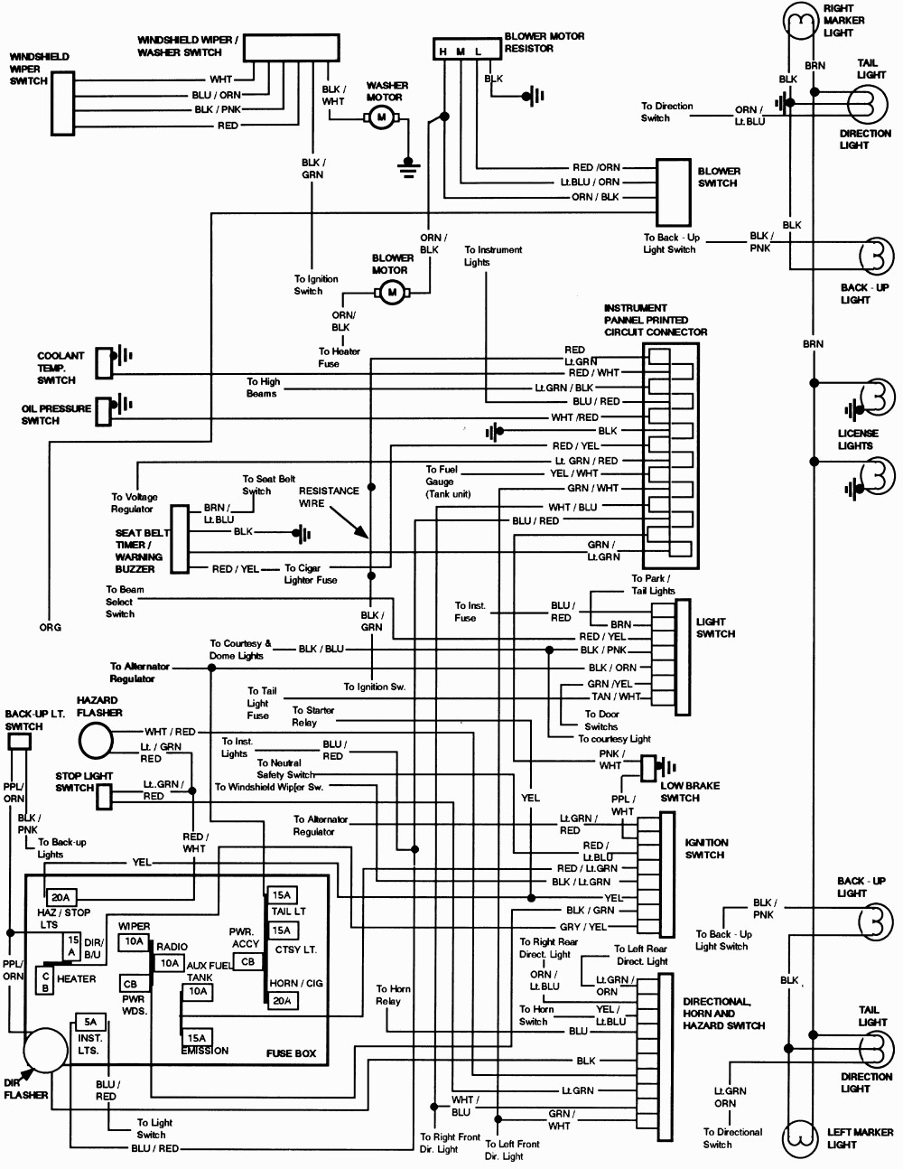 1994 F150 Wiring Diagram Wiring Diagram Rich Corsa A Rich Corsa A Pasticceriagele It