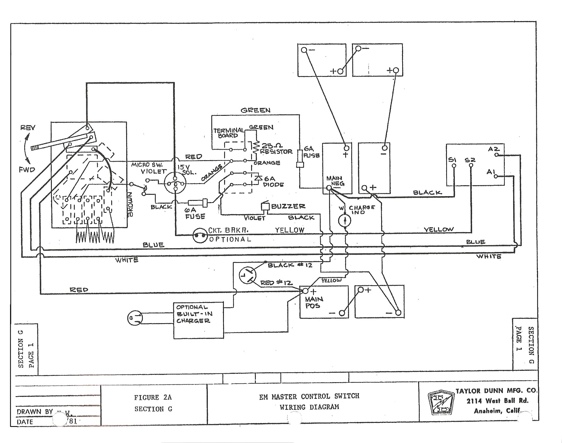 35+ 1998 Ezgo Gas Wiring Diagram Power Images