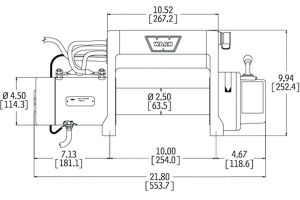 Ac Winch Wiring Diagram - Electric Winch Wiring Diagram and Front Bumper New Warn M8000 In 19b