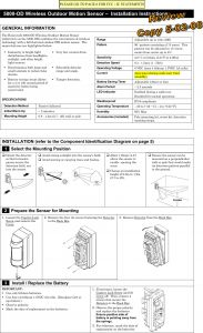 Alarm System Wiring Diagram - Honeywell Alarm System Wiring Diagram Save Wiring Diagram for Honeywell Alarm Valid 8dl5800pir Od Security 4o