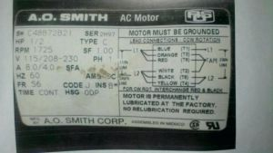 Ao Smith Electric Motor Wiring Diagram - Ao Smith Pool Pump Motor Parts Diagram – Century Electric Motor Wiring Diagram A O Smith Schematic 18b