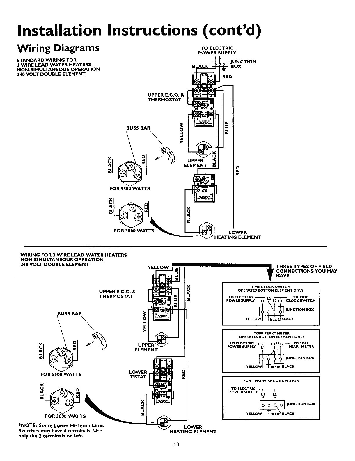 Hot Water Heater Wiring Diagram from wholefoodsonabudget.com
