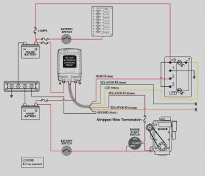 Automatic Charging Relay Wiring Diagram - Automatic Charging Relay Wiring Diagram Collection Collection Blue Sea Wiring Diagram Ml Acr Automatic Charging 2g