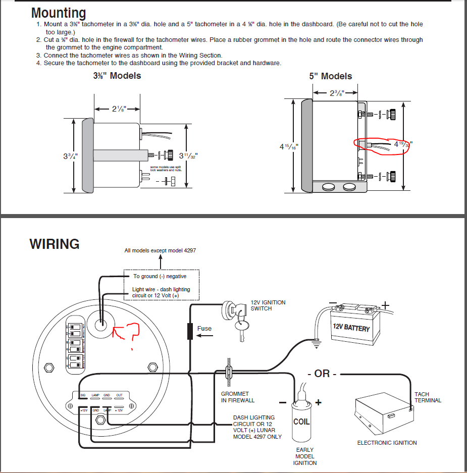 Autometer Gauge Wiring Diagram Collection