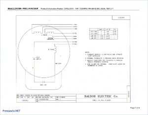 Baldor 5hp Motor Wiring Diagram - Wiring Diagram for Electric Motor with Capacitor Best Awesome Baldor 15m