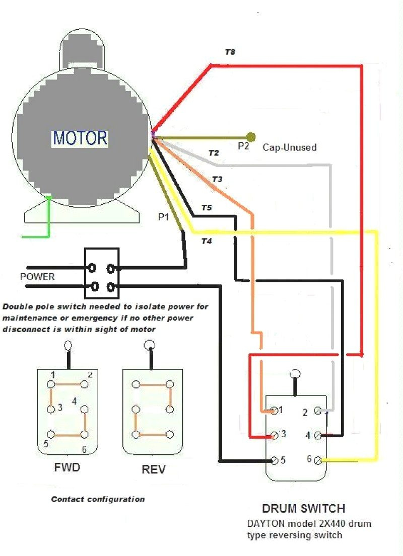 Wiring Diagram For 230V Single Phase Motor from wholefoodsonabudget.com