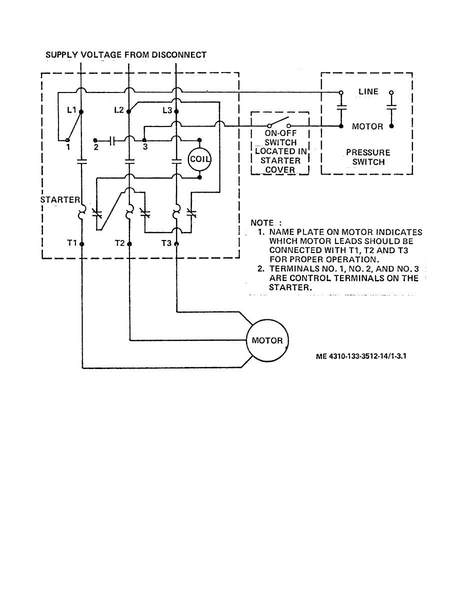 Motor Starter Wiring Diagrams Motor Repalcement Parts And Diagram
