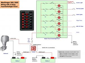 Boat Wiring Diagram software - Boat Wiring Diagram software Collection Boat Wiring Diagram 6 B 14r