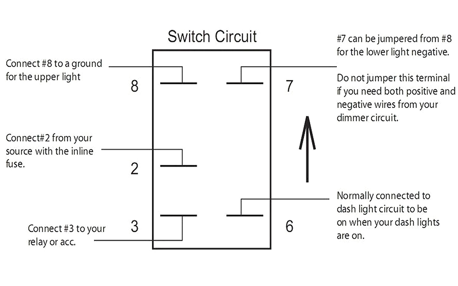 Rocker Switch Wiring Diagram As Well As Carling Rocker Switch Wiring