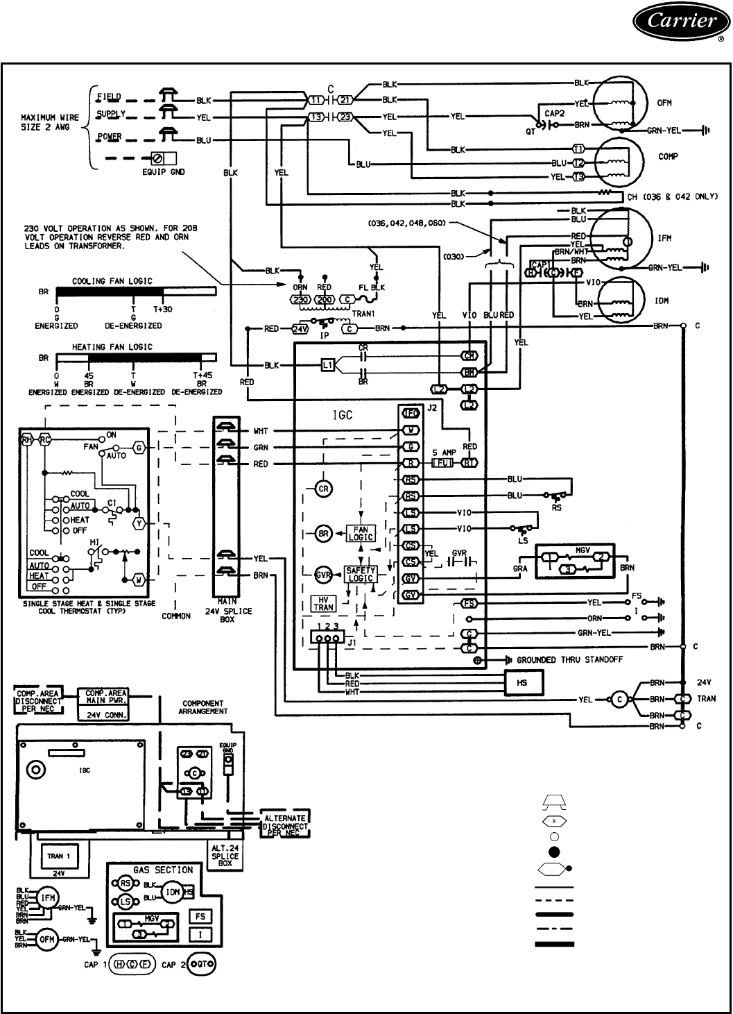 carrier furnace wiring diagram Download-Carrier Furnace Wiring Diagram Download 9-a