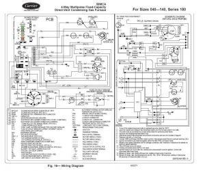 Carrier Furnace Wiring Diagram - Carrier Wiring Diagrams Blurts 11b