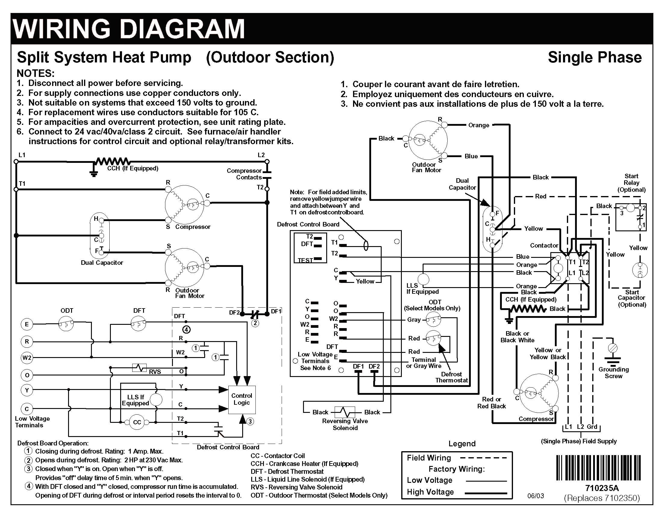 Carrier Heat Pump Thermostat Wiring Diagram Gallery