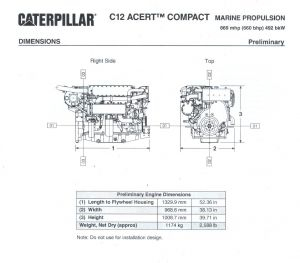 Caterpillar 3208 Marine Engine Wiring Diagram - Cat C12 Specification Brochure 3 Jpg 18s