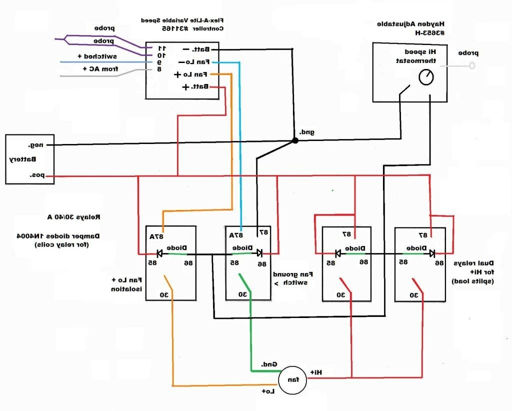 Hampton Bay Light Kit Wiring Diagram | Wiring Liry on