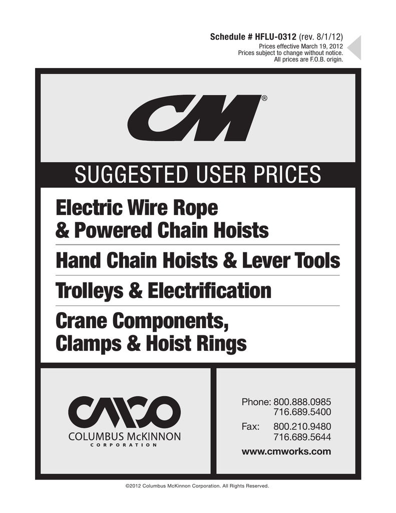 cm shopstar hoist wiring diagram Download-1 c f73a4f2d604ede03e6568c654 2-t