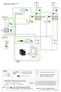 Cold Room Control Panel Wiring Diagram - 120v Dual Element Wiring Diagram Home Brew forums 4l