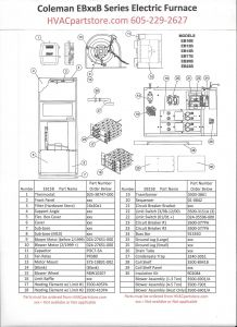 Coleman Electric Furnace Wiring Diagram - Intertherm Electric Furnace Wiring Diagram 6t