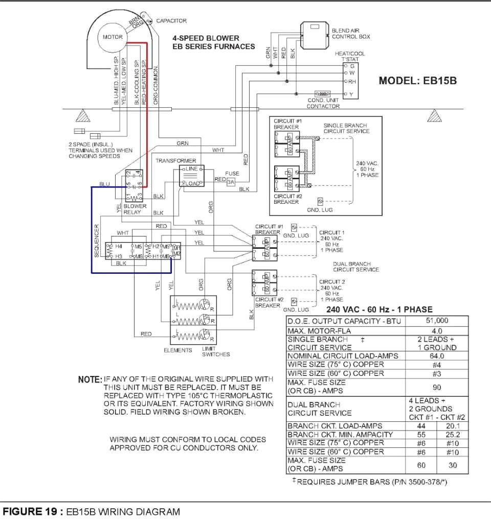 coleman electric furnace wiring diagram Collection-Intertherm Electric Furnace Wiring Diagram Coleman Colemaneb15b And Incredible For 19-j