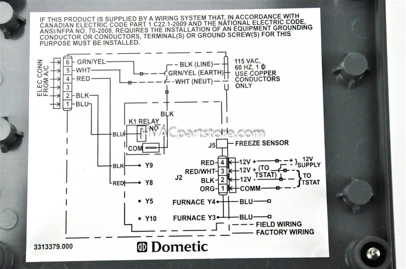 Coleman Mach Thermostat Wiring Diagram Gallery