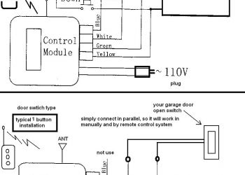 Commercial Garage Door Opener Wiring Diagram - Lift Master Garage Door Opener Wiring Diagram Diagrams Beauteous 10t