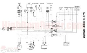 Coolster 125cc atv Wiring Diagram - Diagram Likewise Chinese atv Wiring Diagrams On Coolster atv 125cc Rh Gistnote Co 9t