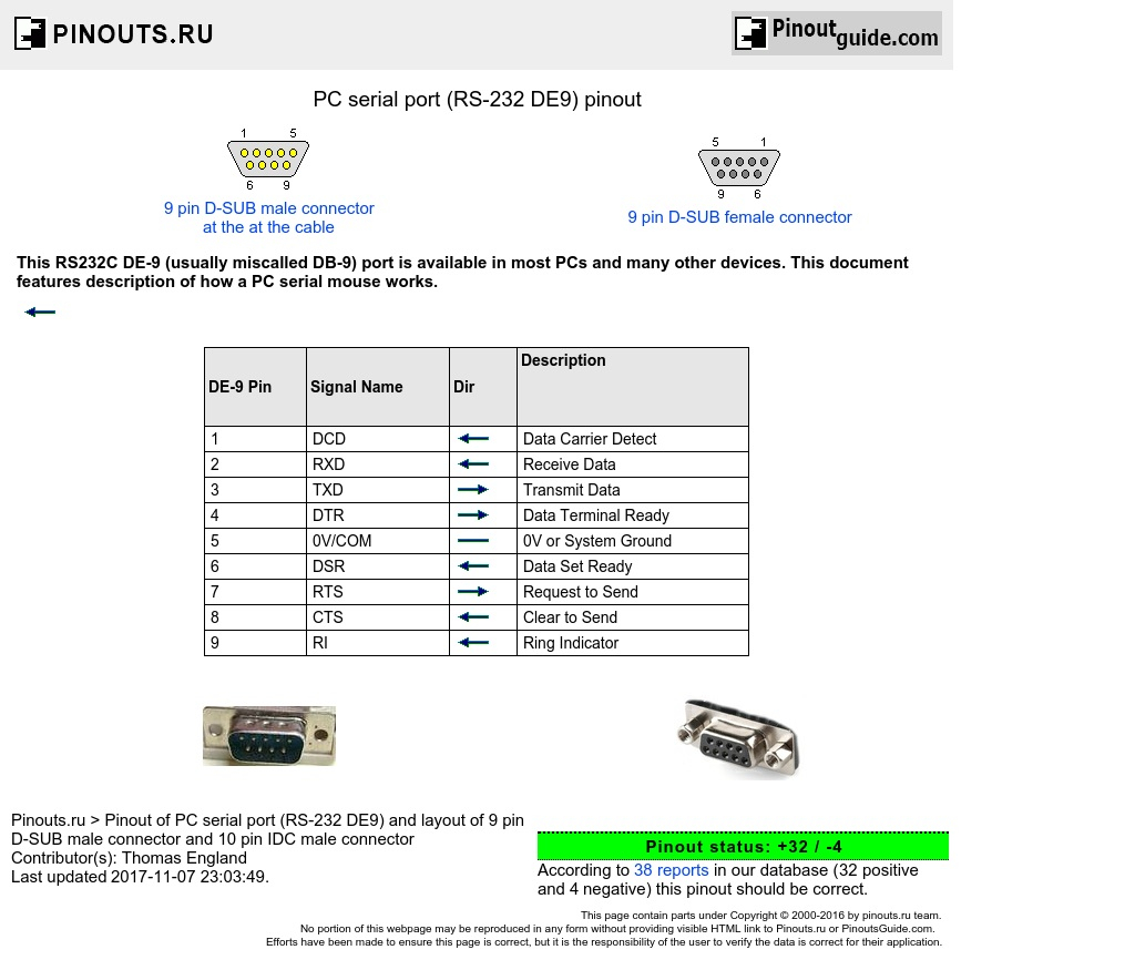 d sub 9 pin connector wiring diagram Download-RS 232 DB9 diagram 13-i